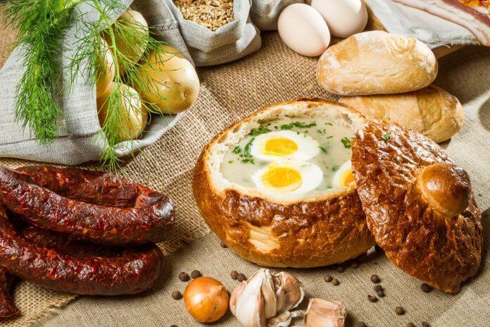 Przepis na Żurek w chlebie