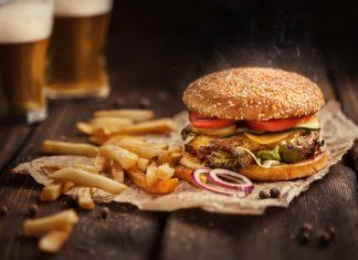 Przepis Hamburger z wołowiną