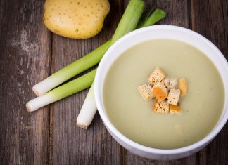 Przepis na zupa krem z pora