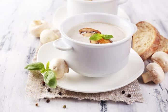 Przepis na zupa pieczarkowa