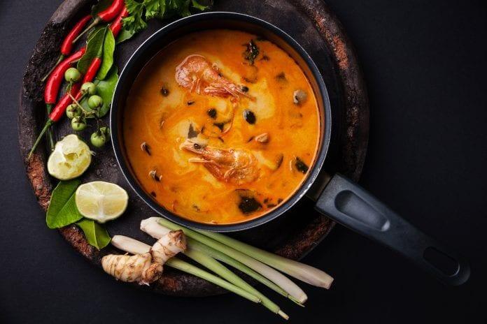 Pzrepis na zupa Tom Yum
