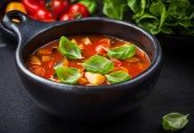 Przepis na zupa minestrone