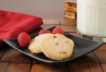 Pzrepis na ciasteczka z malinami