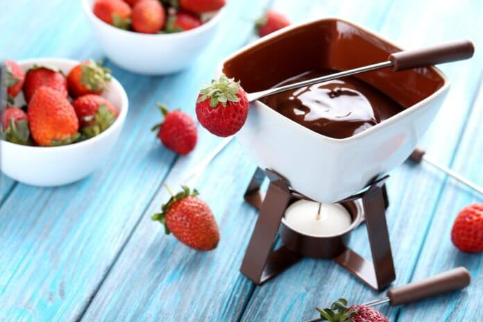 Przepis na czekoladowe fondue