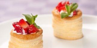 ciastka z ciasta francuskiego