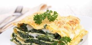 lasagne szpinakowa