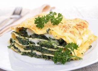 Przepis na Lasagne szpinakowa