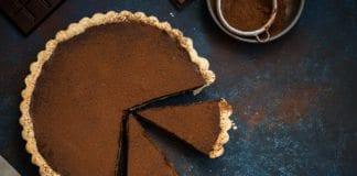 Tarta czekoladowo karmelowa