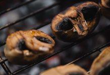 Pieczarki na grilla